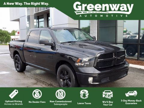 Pre-Owned 2018 Ram 1500 Big Horn 4WD Crew Cab Pickup