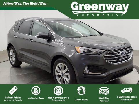 Pre-Owned 2019 Ford Edge Titanium FWD Sport Utility