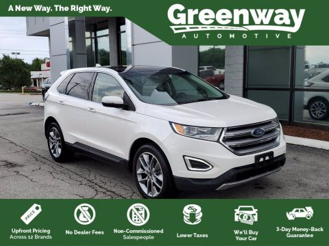 Pre-Owned 2017 Ford Edge Titanium AWD Sport Utility