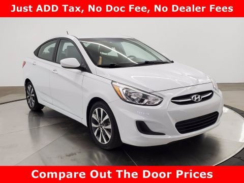 Pre-Owned 2017 Hyundai Accent Value Edition FWD 4dr Car
